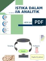 Statistika Dalam Kimia Analitik