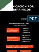 Intoxicacion Por Warfarinicos