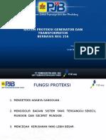 Sistem Proteksi Generator Dan Transformator Berbasis REG216