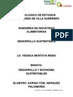 Desarrollo y Economia Sustentables