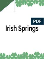 Irish Spring Pitchbook Final