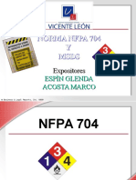 NFPA 740 MSDS