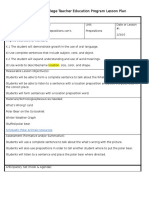 Documents Similar To Eei Lesson Plan Template Practicum M7a1 Final Draft