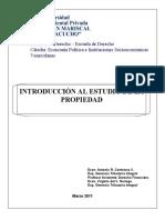 Guía de Teoría Económica - La Propiedad