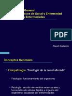 Clase 1 y 2 Generalidades y Mecanismos de Dano Celular