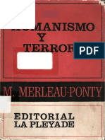 Merleau Ponty Humanismo Y Terror
