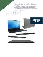 Cotizacion Laptops Saul