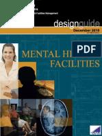 Mental Health Facilities Design Guide