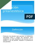 Valoración preanestésica1