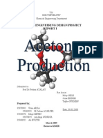 Acetone Production Process From Iso-propyl-Alcohol (IPA)