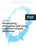 10th Chapter 4 - Developing-managing and Using Customer-related Databases