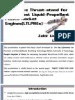 Thrust-stand for LTLPRE