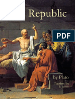Plato--The Republic - Rationalist Philosophy