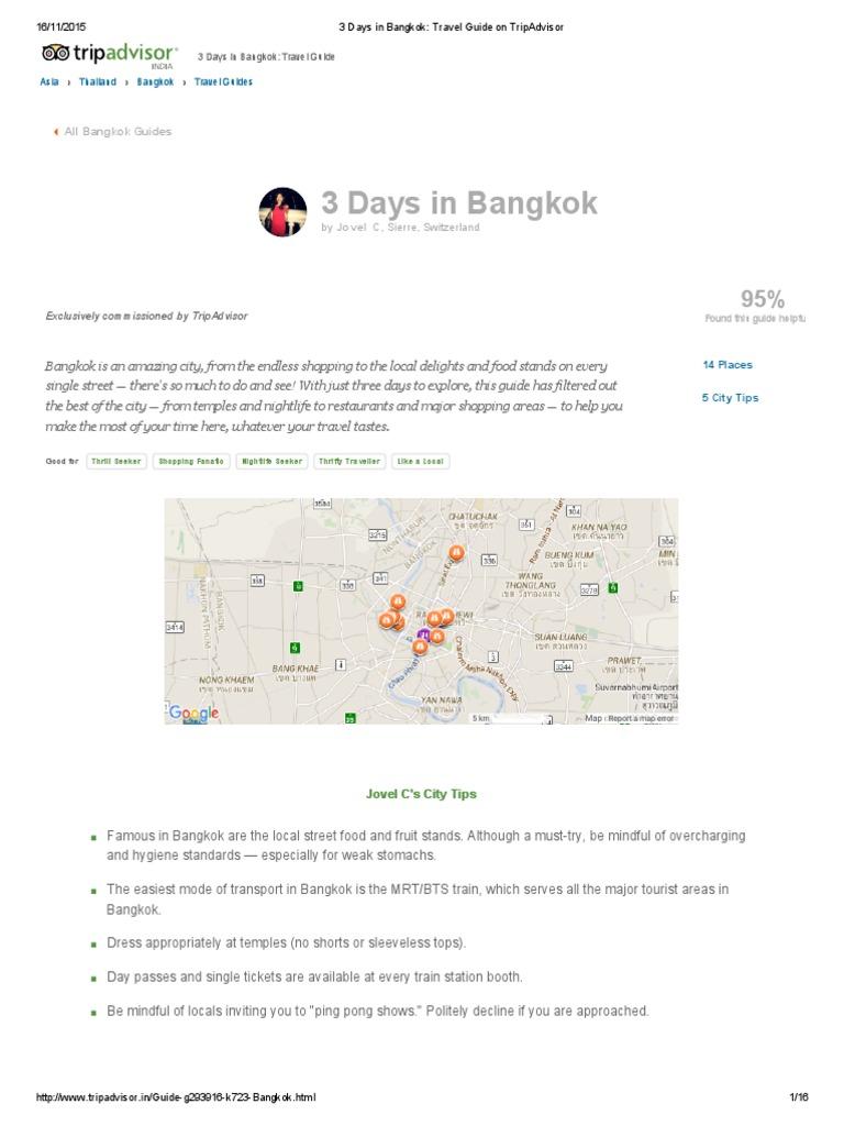 3 Days in Bangkok_ Travel Guide on TripAdvisor | Bangkok
