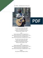 Rizky Febian - Rizky Febian - Kesempurnaan Cinta LyricsKesempurnaan Cinta Lyrics