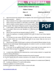 10th Science Solved Sample Question Paper-1 1