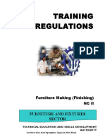 Furniture Finishing Feasibility Study