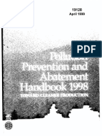 World Bank Document of Pollution Prevention and Abatement