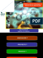 FORMULACION DE PROGRAMAS Y PROYECTOS DE INNOVACION