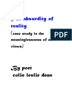 reality-ends in absurdity