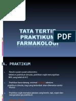 Tata Tertib Praktikum Farmakologi New