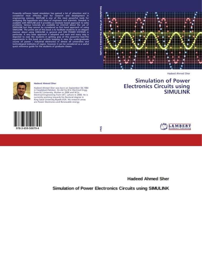 Simulation Of Power Electronics Circuits Using Simulink Discrete Pwm Generator Circuit Electrical Network