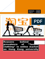 report of taobao