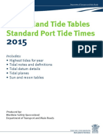 2015 Queensland Tide Tables
