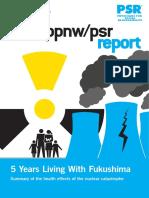 Fukushima Report by PSR 2016