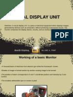 Visual Display Units - Monitors