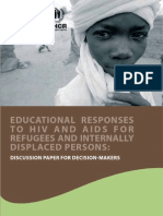 124. Education Responses to HIV Education and Aids