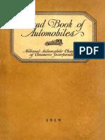 Hand Book of Automobiles (1919)