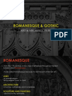 Romanesque and Gothic Art and Arch_BY