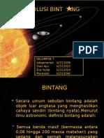 Kelompok 7 Evolusi Bintang