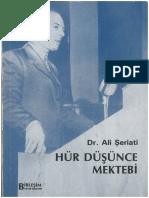 Ali Şeriati. Hür Düşünce Mektebi