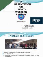 Railway training ppt