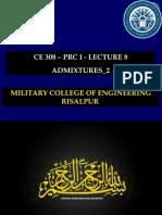 CE 308 - Lec 8 - Admixtures_2