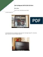 Instalasi Dan Konfigurasi SATA DVD CD Drive