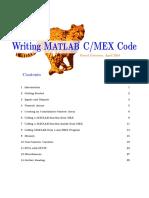 Writing Matlab c Mex Code