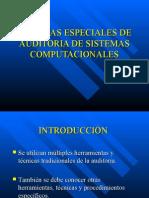 TECNICAS ESPECIALES DE AUDITORIA DE SISTEMAS COMPUTACIONALES