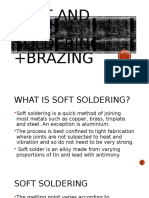 Soft And Hard Soldering +Brazing