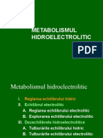 metabolosmul hidrosalin prelegeri