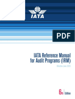 IATA Reference Manual for Audit Programs Ed 6
