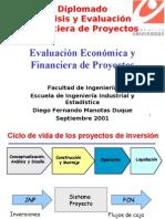 Evaluación Económica y Financiera de Proyectos