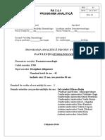 Programa Analitica Stom Ro ISO