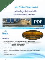 Pre-fabricated Building - Mahadev Profiles