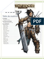Barbare Pathfinder