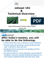 Technical Overview of Biodiesel