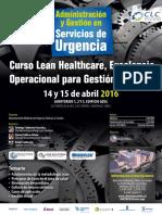 Afiche Administracion y Gestion Urgencia