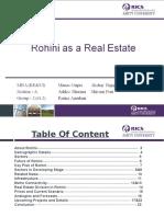 Rohini as a Real Estate